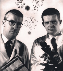 Peter Nowell and David Hungerford discovered the Philadelphia chromosome (Penn Medicine)
