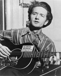Woody Guthrie put a face on HD.