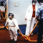 David Vetter lived in a spacesuit when outside his bubble. (NASA)