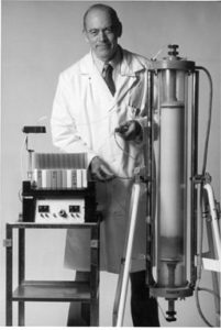 Dr. Roscoe Brady led research in developing enzyme replacement therapy for Gaucher disease.